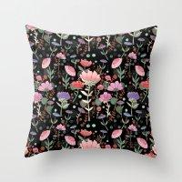 Wilderness Pattern Throw Pillow
