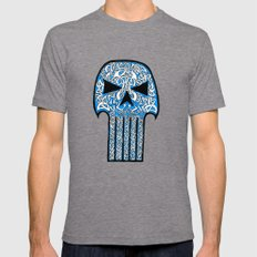 Celtic Punisher Mens Fitted Tee Tri-Grey SMALL
