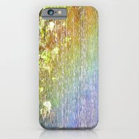 iPhone & iPod Case featuring Rainbow Waterfall by Julie