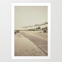 Shoreline Trail Art Print