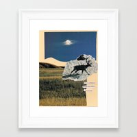 planet earth Framed Art Print
