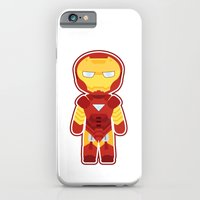 iPhone & iPod Case featuring Chibi Iron Man by mydeardear