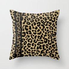 CLASSIC LEOPARD SKIN Throw Pillow