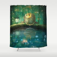 Crown Prince Shower Curtain