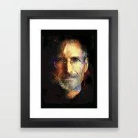 Steve Jobs Framed Art Print