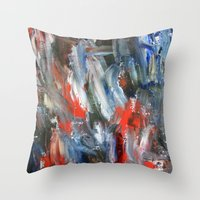 Untitled Abstract #6 Throw Pillow