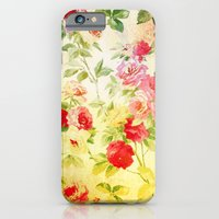 VINTAGE FLOWERS XXVII - for iphone iPhone 6 Slim Case