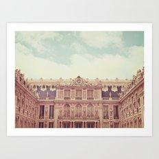 Chateau Versailles Art Print