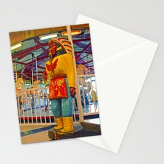 Chieftain sculpture Stationery Cards