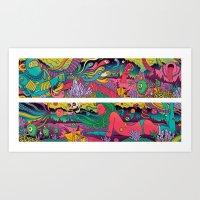 Propagation Planet Art Print