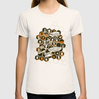 5 Year Mission Womens Fitted Tee Natural SMALL