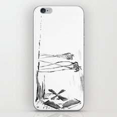 Tilting at Windmills iPhone & iPod Skin