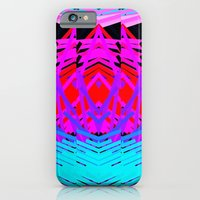 iPhone & iPod Case featuring Neon Time by allan redd