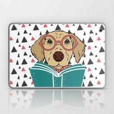 Reading Dog Laptop & iPad Skin