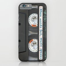 Cassette iPhone - Words iPhone 6 Slim Case