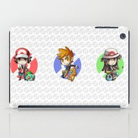 Pokemon Trainer RED iPad Case