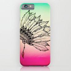 Native American Spiritual Feather Headdress Slim Case iPhone 6s