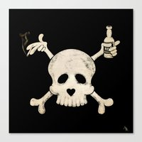 Cigarettes & Alcohol  Canvas Print