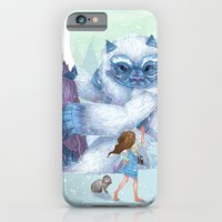 iPhone & iPod Case featuring The Monstrous Mountains by Anne Lambelet