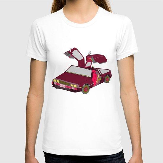 cool girls like flying cars T-shirt