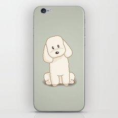 Toy Poodle Dog Illustration iPhone & iPod Skin