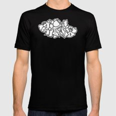 graffiti - HIGH SMALL Mens Fitted Tee Black