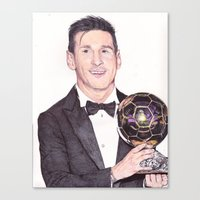 King Leo Ballon D'Or Bal… Canvas Print