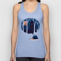 Scary story Unisex Tank Top