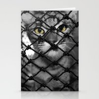 Tiger Inside Stationery Cards