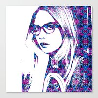 Cara In The City Canvas Print