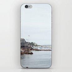 Massachusetts Fishing Village iPhone & iPod Skin
