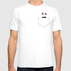 Voices in My Head Mens Fitted Tee SMALL White