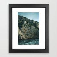 Capri 4 Framed Art Print