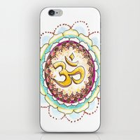Radiating Om iPhone & iPod Skin