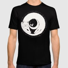 cats life: dreaming Mens Fitted Tee Black SMALL