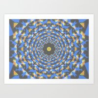 Confetti Cosmos Art Print
