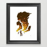 First Gulf Framed Art Print