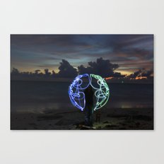 Got the Whole World Canvas Print