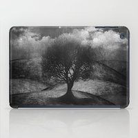 Black and white - Once upon a time... The lone tree. iPad Case