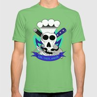 Chef For Life  Mens Fitted Tee Grass SMALL