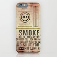 iPhone & iPod Case featuring Smoking Bill Hicks… by Tim Bridges