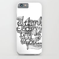 iPhone & iPod Case featuring Thankful by David Stanfield