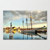 Tole Mour & Rainbow Harbor Canvas Print
