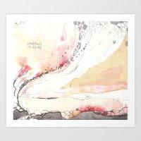 Traces (V) Art Print