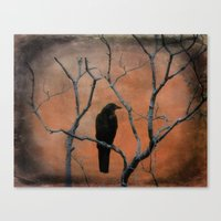 Nature Blackbird Canvas Print