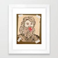 Bete Framed Art Print