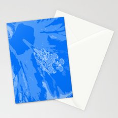 Intimate blue Stationery Cards