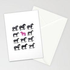 Brave Horses & Pink Pony Stationery Cards