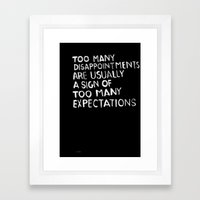 Disappointments /2/ Framed Art Print