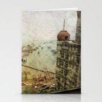 Taj Mahal Palace hotel and the Gateway of India monument, Mumbai, India Stationery Cards